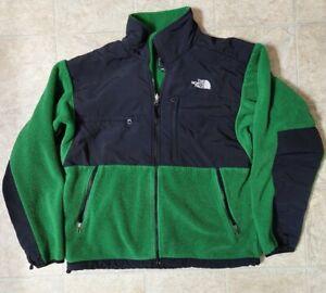 Vintage The North Face Denali Jacket Mens Size Medium Coat Polartec Fleece Green