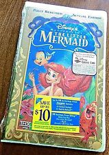The Little Mermaid (VHS Special Edition NEW) Walt Disney Masteriece Collection