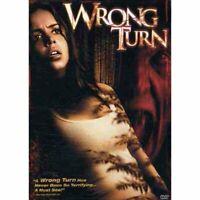 Wrong Turn NEW DVD Widscreen & Full Dual Edition 2003 Slasher Rob Schmidt Horror
