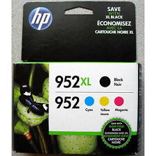 4-PACK HP GENUINE 952XL Black & 952 Color Ink (RETAIL BOX) OFFICEJET PRO 8710