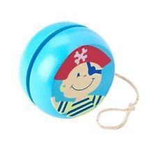 Pirate wooden yoyo by Orange Tree toys, great stocking filler