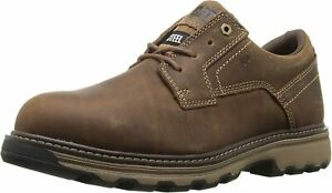 Caterpillar Mens TYNDALL SD ST Steel Toe Industrial Work Safety Leather Shoes