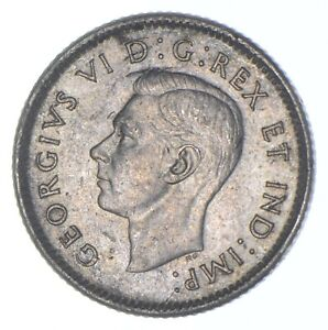 Better Date - 1946 Canada 10 Cents - SILVER *676