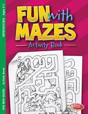 Fun with Mazes, Activity Book (ages 5-7)  pack of 6, Warner Press, New Book