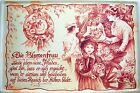 profesión blumenfrau FLORERIA Cartel de Chapa de Metal Cartel de lata 20 x 30cm