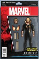 Power Man and Iron Fist #1 Tyler Christopher Action Figure Variant Comic Book