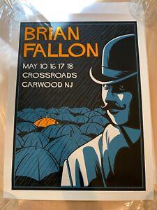 Brian Fallon Crossroads Garwood, NJ Watson May 2019 Poster Great Condition