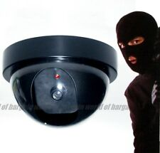 Dummy Security Camera + Led Sensor Light Fake Dome Surveillance Anti Theft H068