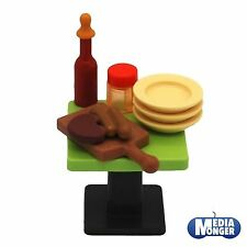 Playmobil ® BBQ | Grill | set | table | assiette | ketchup | planche | viande