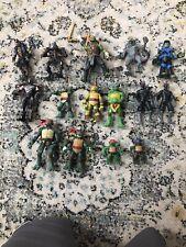 TMNT lot figures Teenage Mutant ninja turtles