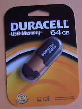 Duracell USB 2.0 Memory Flash Drive - 64 GB