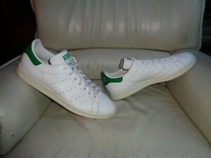 """Adidas Stan Smith """" Green """" Used - Sneakers T. 48 Occasion - US 13 / UK 13,5"""