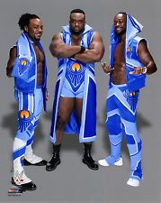WWE foto del nuovo giorno WRESTLING 8x10 PROMO Xavier Woods BIG E & Kofi Kingston