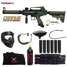 Tippmann Maddog Cronus Tactical Corporal Paintball Gun Package Olive