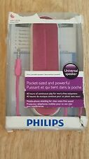 OEM Philips Stereo Sound on the Go Pink/White Universal Portable Speaker
