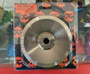 Scooter GY6 150cc High Performance 115mm Lightweight Variator Drive Face Plate.