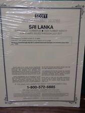 Sri Lanka #23 2017 Scott Specialty supplement for Album collection NEW # 622S017