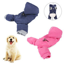 PET DOG PUPPY WINTER SOFT HOODIE CLOTHES COSTUME APPAREL THICK JACKET COAT SMART