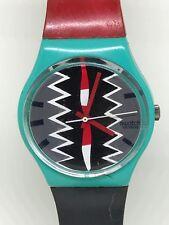 Vintage 1986 Swatch Watch Tonga GL100 Orologio Reloj Armbanduh montre à bracelet