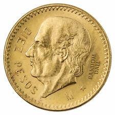 Random Date Mexico Gold 10 Pesos - 0.2411 Troy oz AGW SKU28437