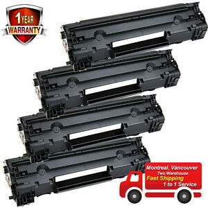 4PK Toner for HP 83A CF283A LaserJet Pro MFP M125nw M125rnw M127fn M127fw