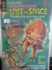 LOST IN SPACE ON SPACESTATION ONE BATTLE OF GIANTS VINTAGE COMIC