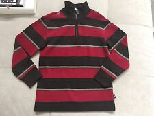 Gap Kids Sweatshirt Size 6-7 Small Red Gray