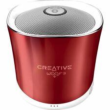Creative Woof 3 Bluetooth Wireless Speaker - Red (IL/RT6-14400-51MF8230AA003-UG)