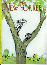NEW YORKER MAGAZINE ORIGINAL COVER DATED 29TH APRIL 1967
