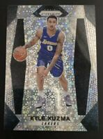 KYLE KUZMA ROOKIE DISCO SILVER PRIZMS #283 RC SP 2017-18 PANINI PRIZM FAST BREAK