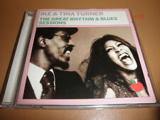 IKE & TINA TURNER cd GREAT R&B SESSIONS hits ROCK ME BABY too hot to hold FED UP