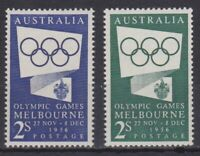 APD403) Australia, 1954 - 1956, Melbourne Olympic Games. MUH. Price: $6.50