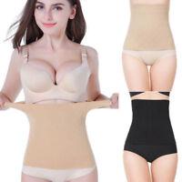 Women's Postpartum Waist Trainer Belt Body Shaper Belly Wrap Compression Band US