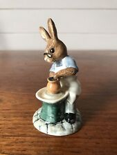 Vintage Royal Doulton Porcelain Bunnykins Master Potter Figurine Mint Condition