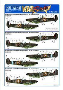 Kits World Decals 1/32 SUPERMARINE SPITFIRE Mk.II Battle of Britain Memorial #1