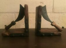 VINTAGE PIRATE BOOKENDS BY BATLLE MADE IN SPAIN