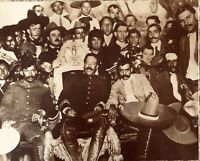 Mexican Revolution Generals Pancho Villa and Emiliano Zapata Vintage Photo 16x20