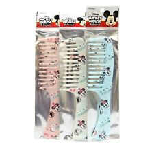 Disney MICKEY MOUSE Pink / White / Blue COLOR RANDOM Hair Simple Comb Girls