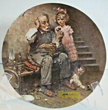 "Knowles Collector Norman Rockwell plate - ""The Cobbler"" #17213I"