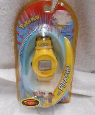 New Sealed Nintendo Pokemon #25 Pikachu C-Watch 1999 Trendmasters w/new battery