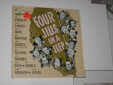 33rpm FOUR GIRLS IN A JEEP(IN SHRINK)H.S.407 nice SEE PICS