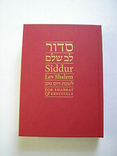 Siddur Lev Shalem for Shabbat and Festivals very good to excellent cond 2016