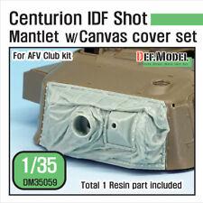 1/35 Centurion IDF Shot Mantlet w/Canvas Cover set for AFV Club