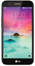 "AT&T + UNLOCKED LG K20 M255 4G LTE 16GB 5.3"" Black Phone Used"
