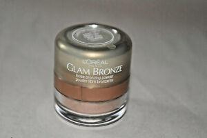 L'oreal Glam Bronze loose Bronzing Powder - Sandstone shimmer - Sealed