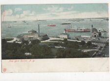 New York Harbor Vintage U/B Postcard USA 513a
