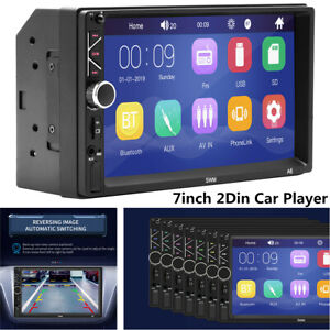 Car Multimedia MP5 player mirror link Fit For IOS Android Radio FM 87.5~108MHz