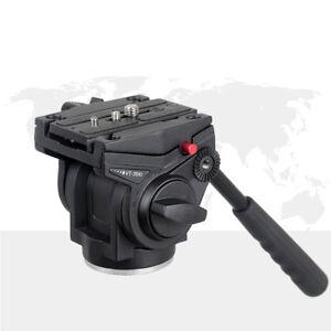 Professional Lightweight Fluid Video Head & Sliding Plate For tripod DSLR camera