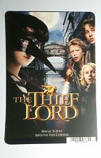 THE THEIF LORD COVER ART MINI POSTER BACKER CARD (NOT a movie)