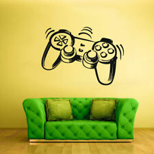Wall Decal Vinyl Sticker Decals Time Xbox 360 Ps3 Game Ps2 Controller (Z2012)